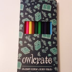OwlCrate Colored Pencils